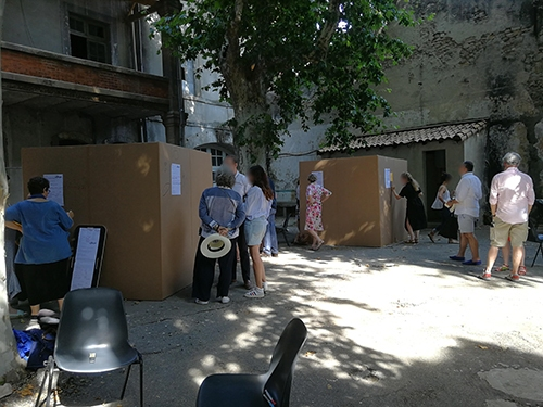 Atelier de Créativité, Remi Sabouraud, pour les Napoléons