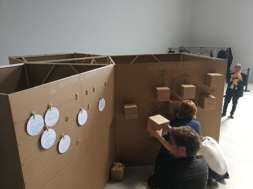 Atelier de Créativité, Rémi Sabouraud pour la journée défi ACCM