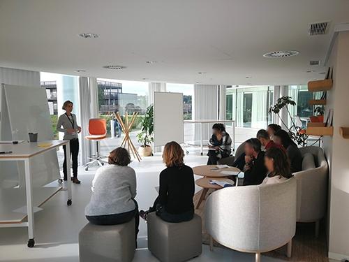 Atelier de Créativité, Rémi Sabouraud pour CMA CGM à thecamp