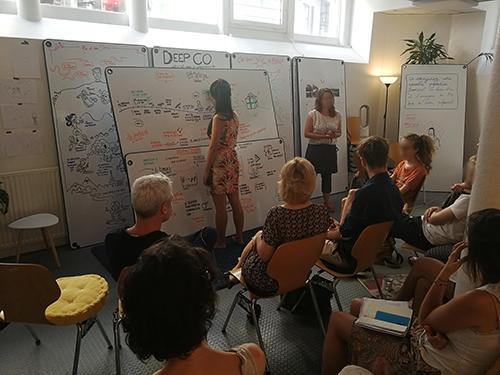 Atelier de Créativité, Rémi Sabouraud pour diplôme universitaire codesignit