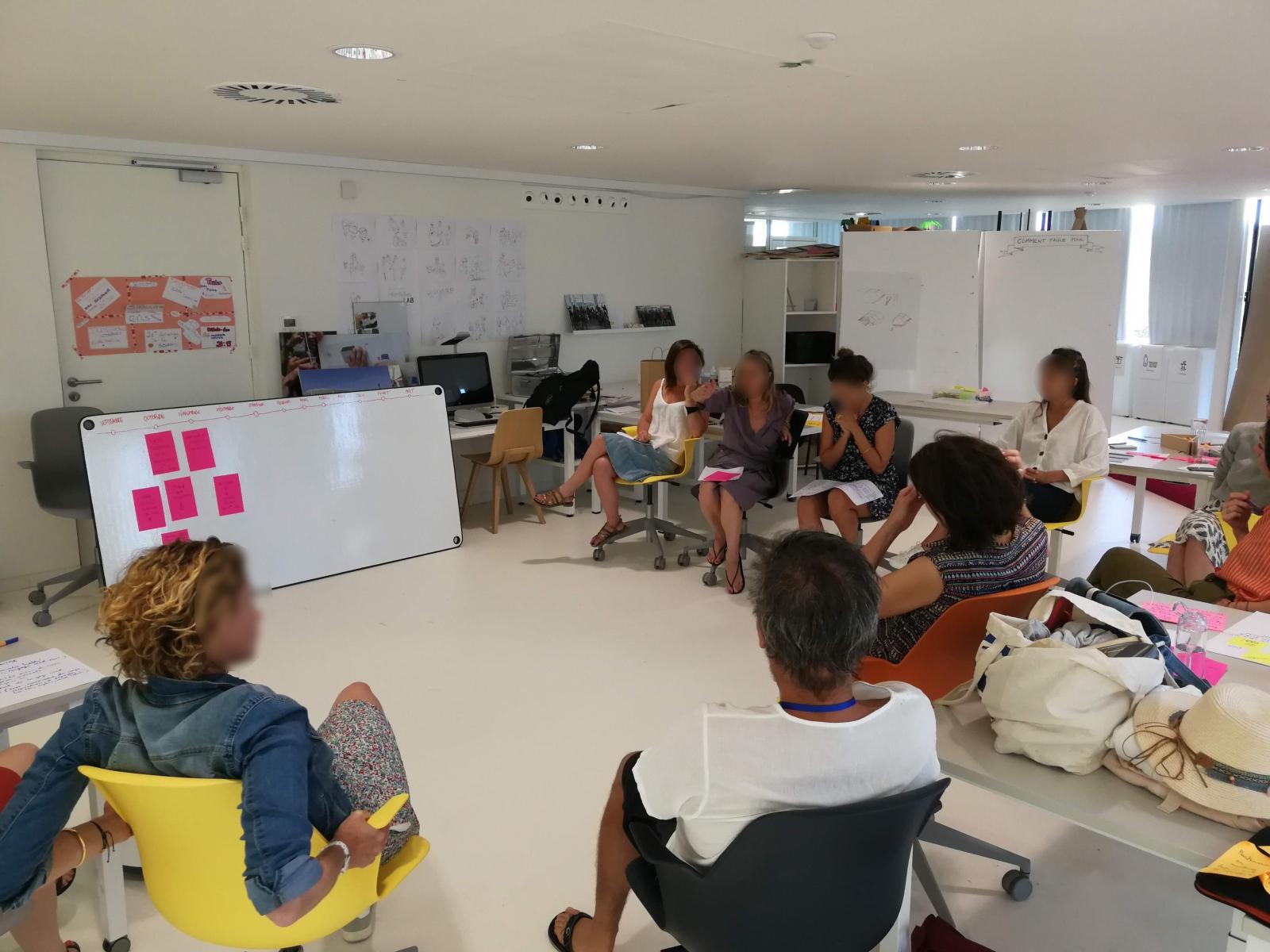 Atelier de Créativité, Rémi Sabouraud pour thecamp, transmission