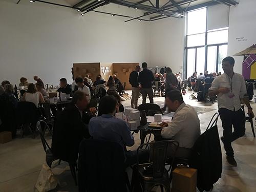Atelier de Créativité, Remi Sabouraud, pour la journée Défi ACCM - vue d'ensemble