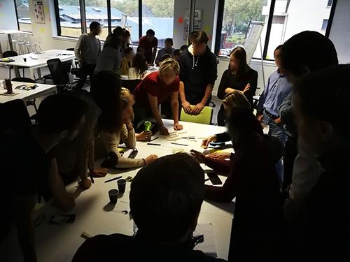 Atelier de Créativité, Remi Sabouraud, pour ZTP