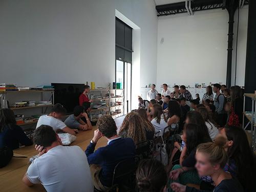 Atelier de Créativité, Remi Sabouraud, pour l'EDHEC, learning expedition