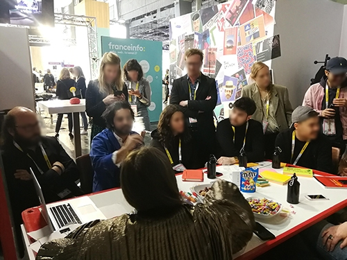 Atelier de Créativité, Remi Sabouraud, pour Ulule à Vivatech