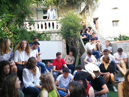 Atelier de Créativité, Rémi Sabouraud pour l'EDHEC, learning expedition